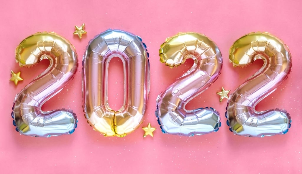2022 happy new year royalty free images