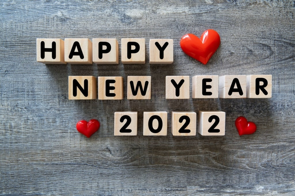 2022 happy new year wallpapers