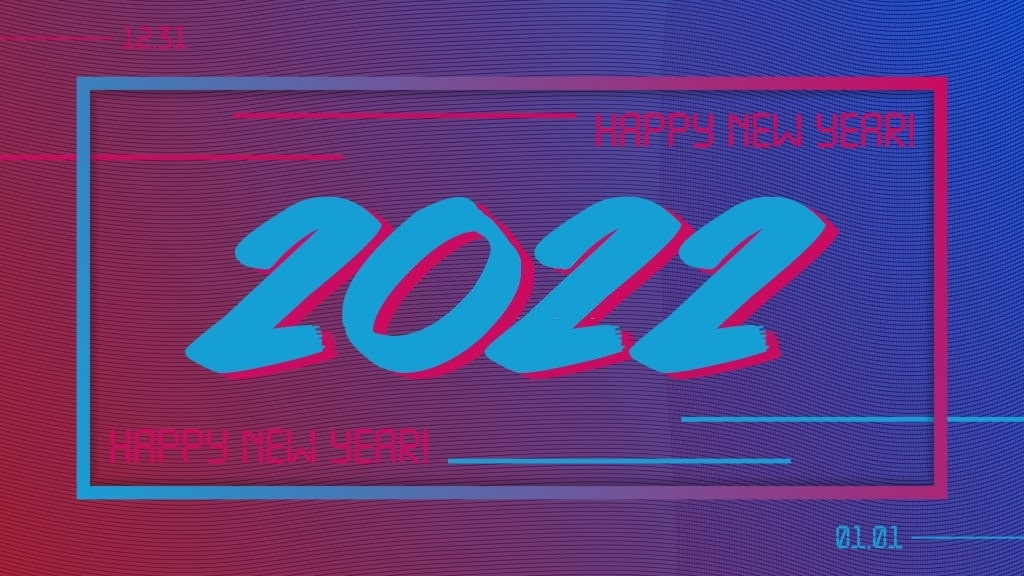 royalty free happy new year 2022 wallpaper