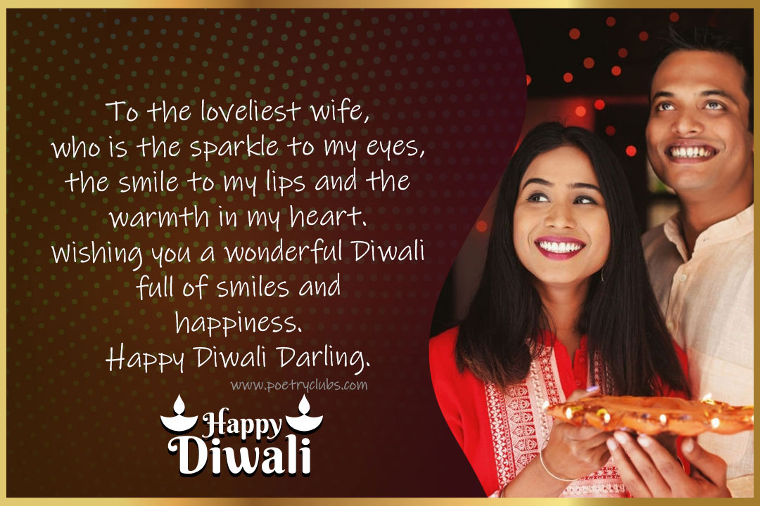 diwali 2021 wishes for her