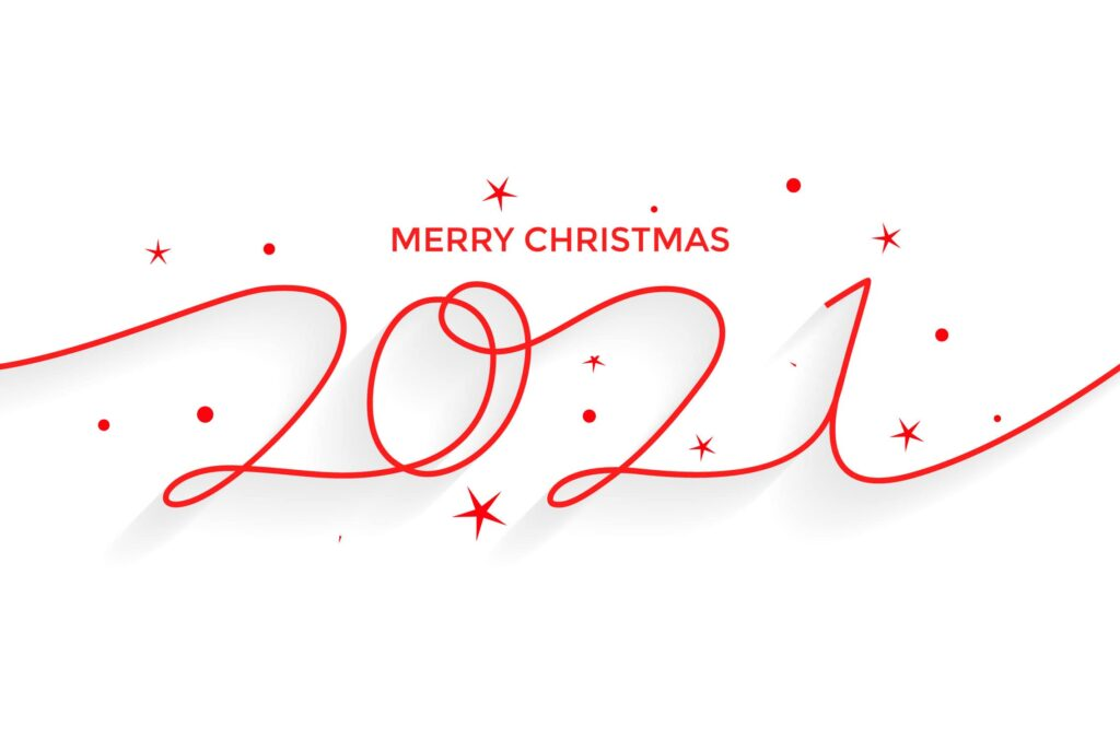 merry christmas 2021 images wallpaper