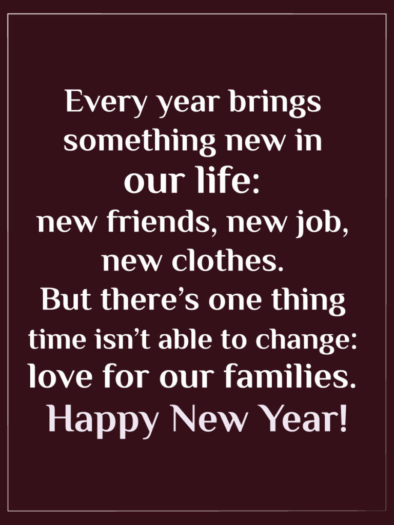 2022 happy new year wishes for family