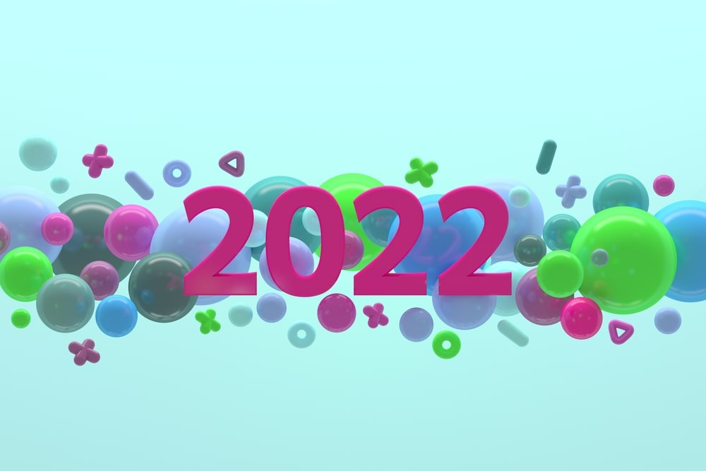 2022 happy new year greetings cards