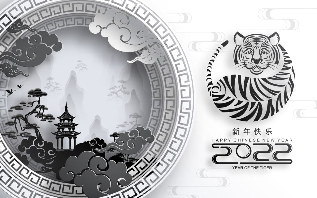 2022 year of the tiger images wallpaper