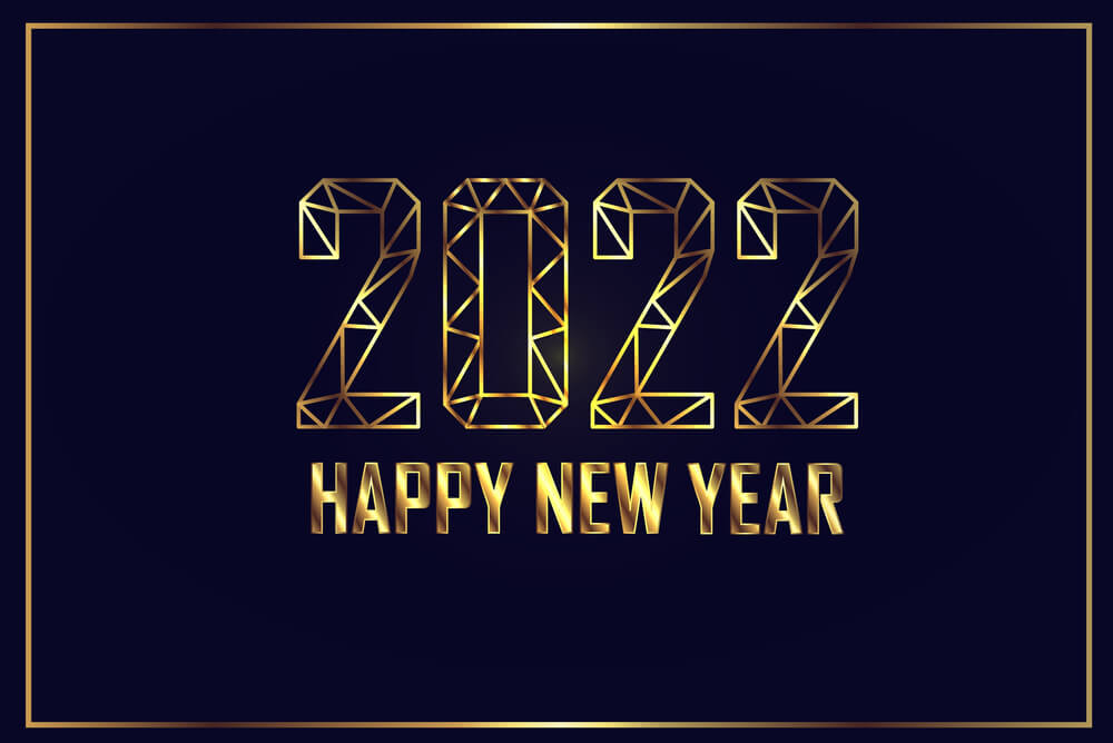 happy new year 2022 greeting card images
