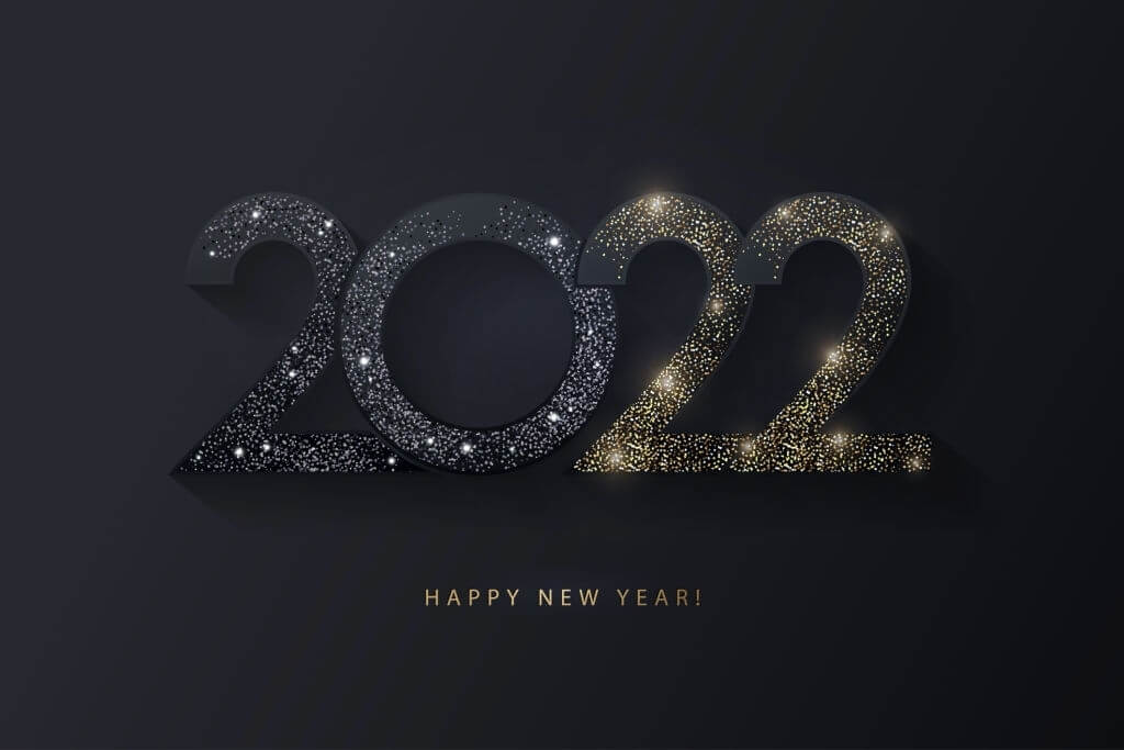 happy new year 2022 greeting card wishes