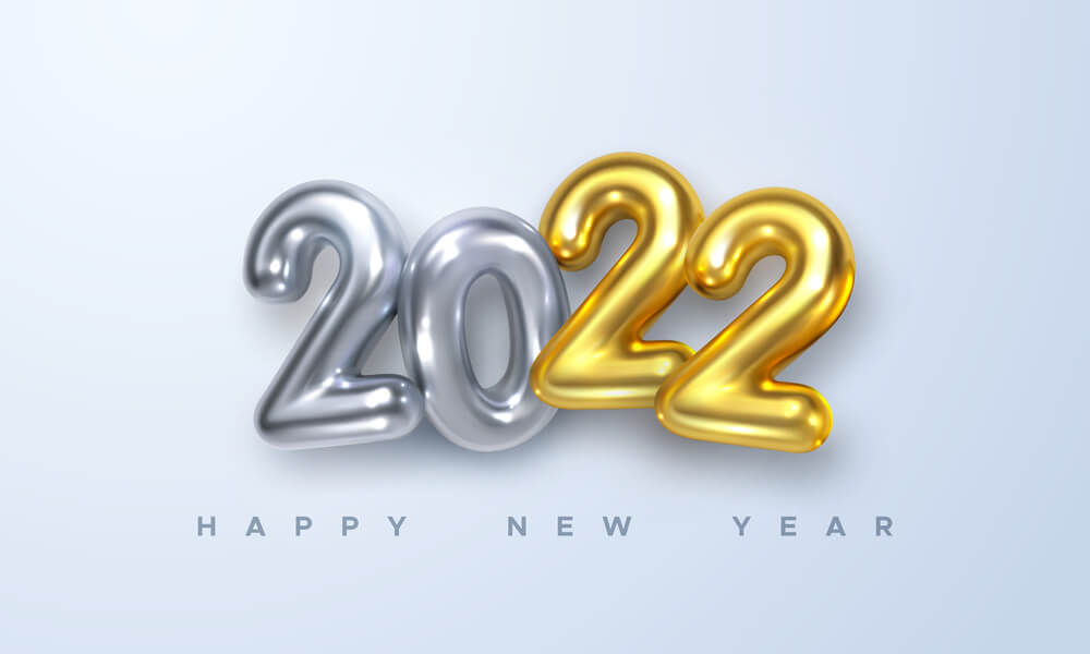 new year 2022 greeting cards images