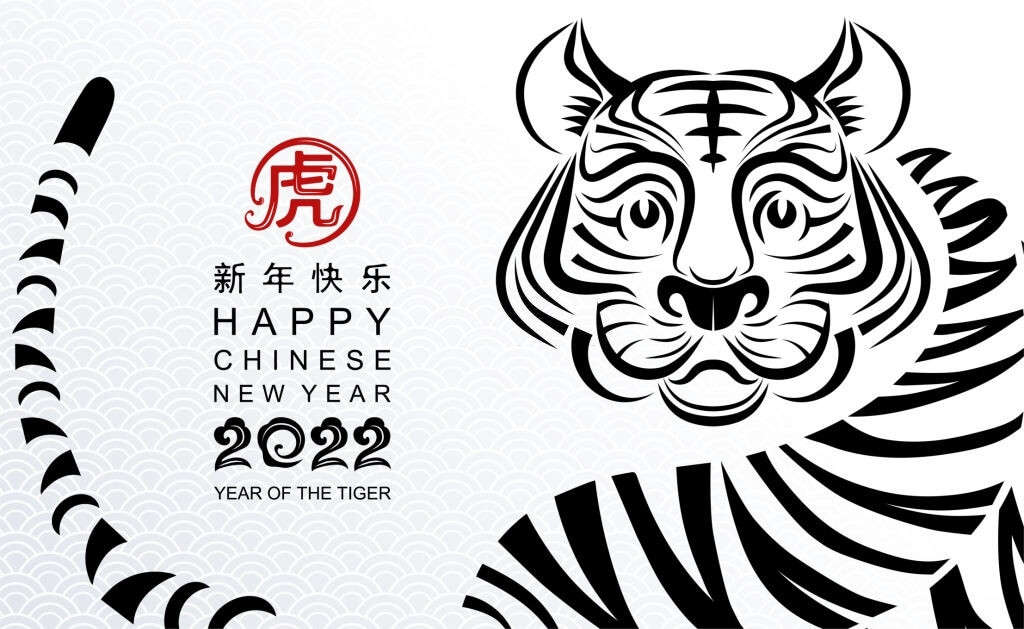 year of the tiger 2022 photo