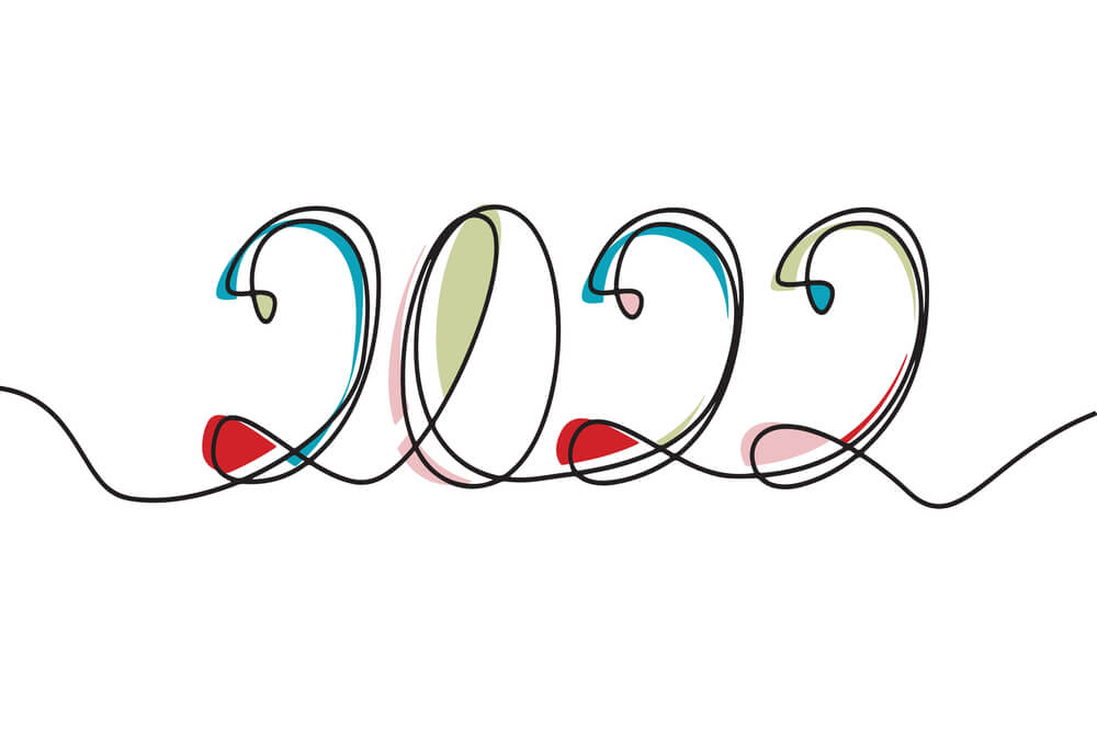 2022 happy new year images wallpaper